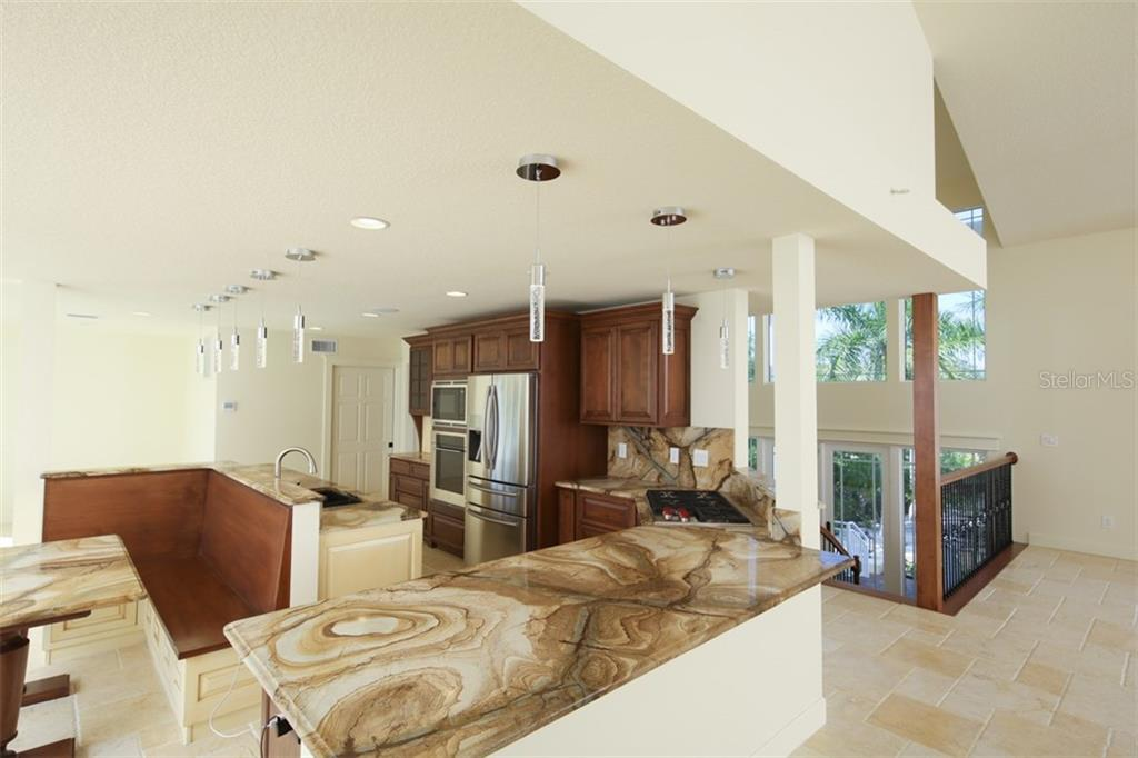 Gourmet Kitchen - Single Family Home for sale at 7295 Manasota Key Rd, Englewood, FL 34223 - MLS Number is D5911936