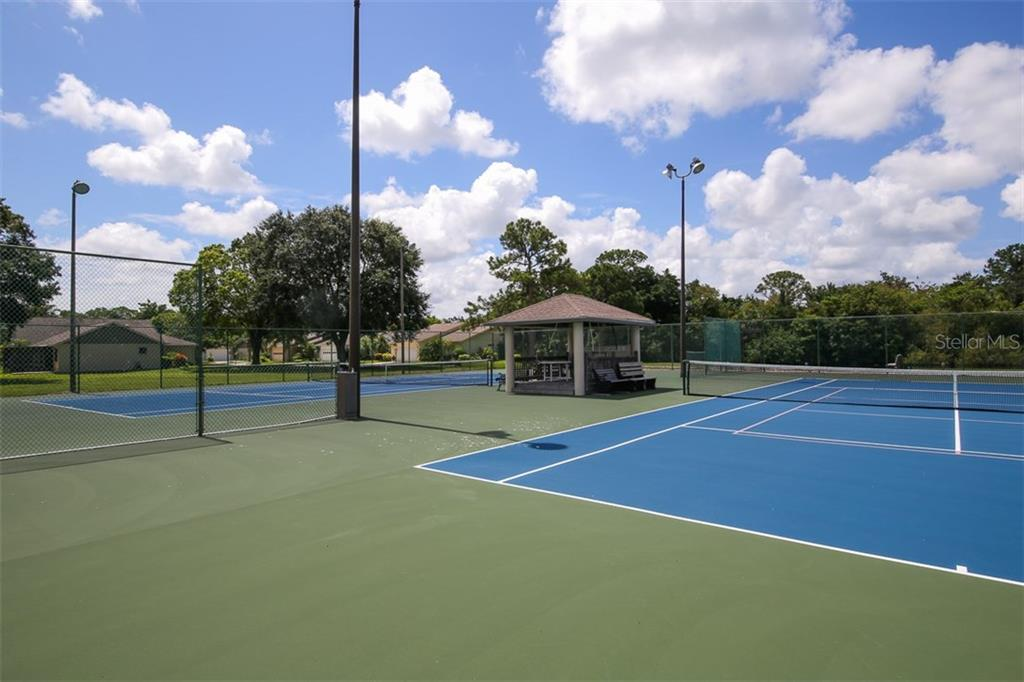 Tennis Courts - Single Family Home for sale at 317 Indian River Ln, Englewood, FL 34223 - MLS Number is D5919375