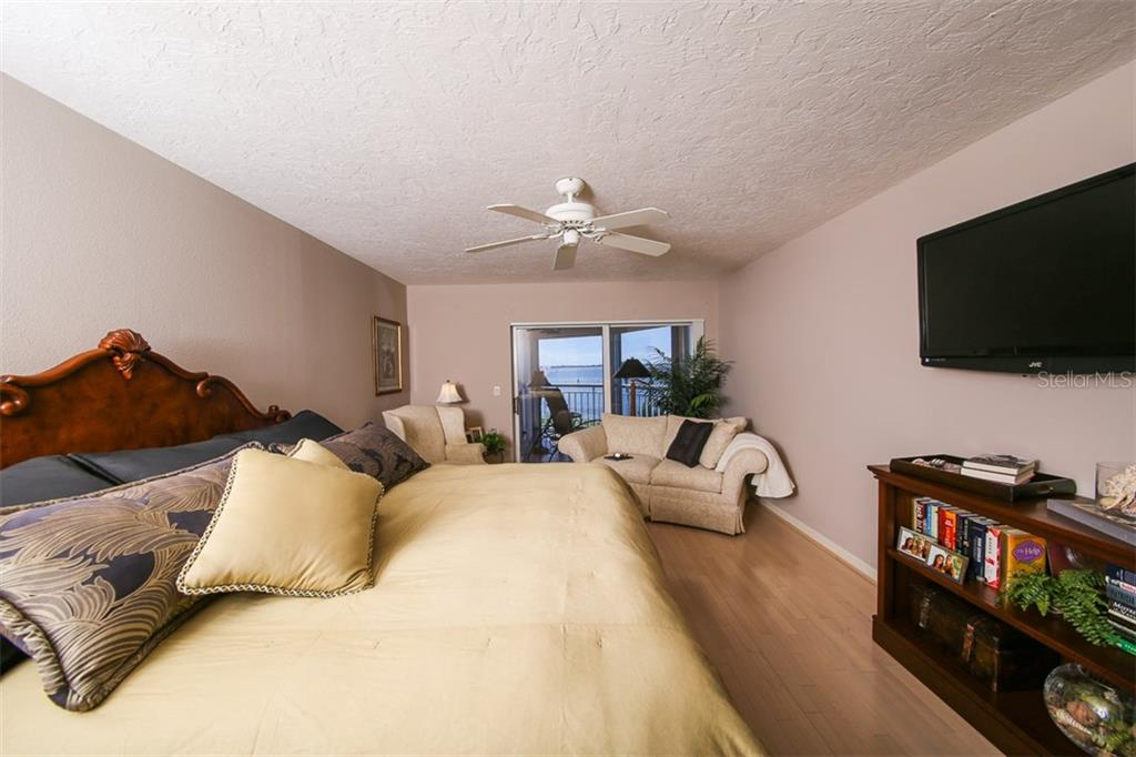 Master Bedroom overlooking Intracoastal - Condo for sale at 11000 Placida Rd #2804, Placida, FL 33946 - MLS Number is D5920736