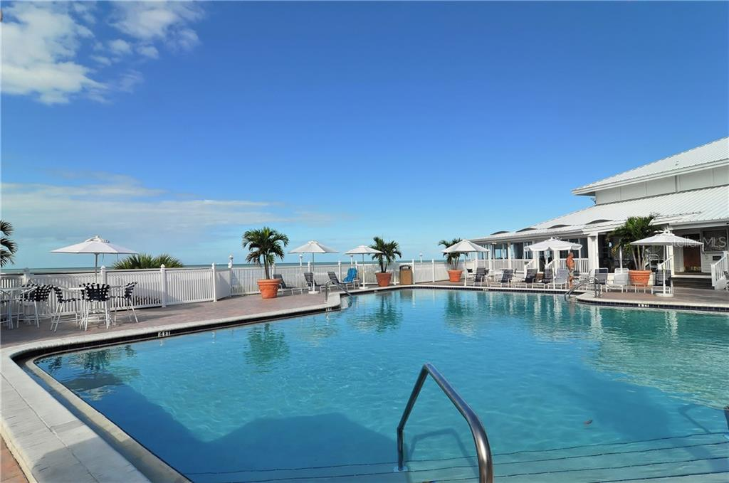 Clubhouse pool - Condo for sale at 5000 Gasparilla Rd #44-A, Boca Grande, FL 33921 - MLS Number is D5921810