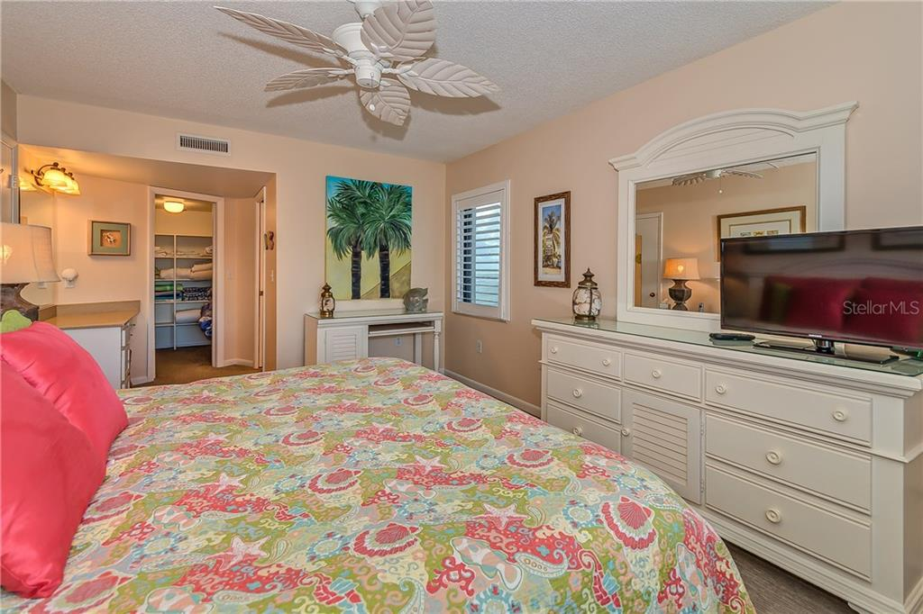 MASTER BEDROOM LOOKING INTO DRESSING AREA - Condo for sale at 5700 Gulf Shores Dr #a-317, Boca Grande, FL 33921 - MLS Number is D5922412