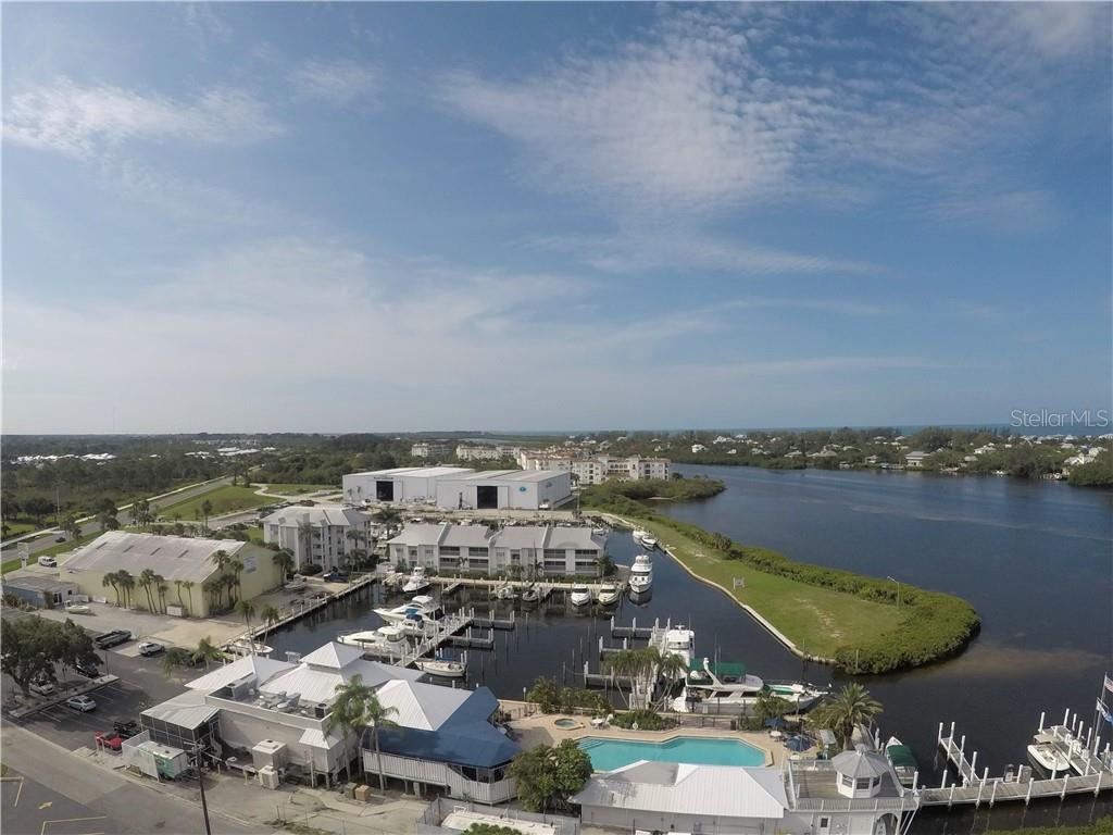 Aerial view of the pool - Condo for sale at 7070 Placida Rd #1121, Placida, FL 33946 - MLS Number is D6100747