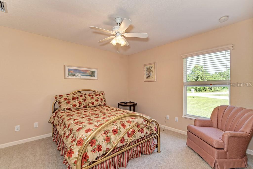 Light and bright guest bedroom. - Single Family Home for sale at 7256 Holsum St, Englewood, FL 34224 - MLS Number is D6101787