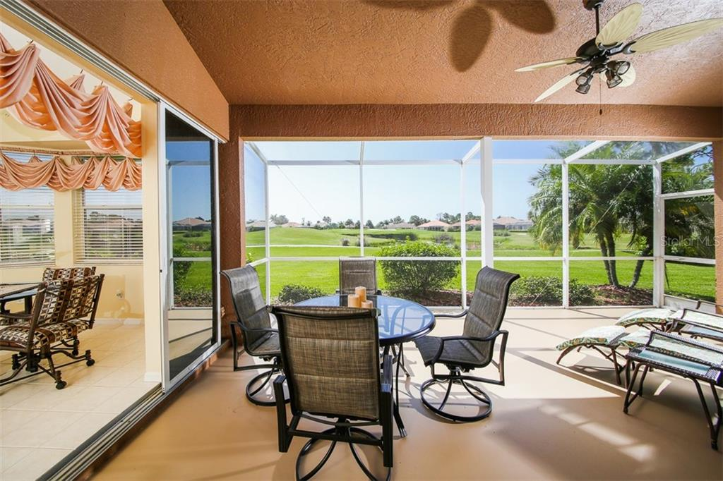 LANAI - Single Family Home for sale at 2924 Phoenix Palm Ter, North Port, FL 34288 - MLS Number is D6101890
