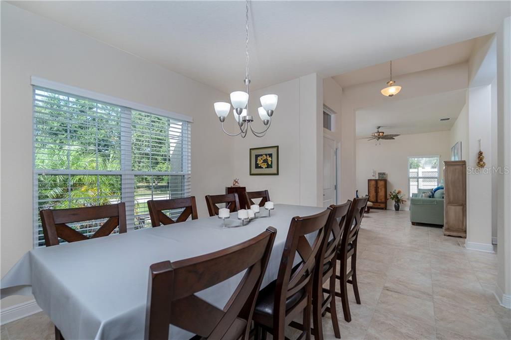 Large dining space for all your entertaining needs. - Single Family Home for sale at 71 Mariner Ln, Rotonda West, FL 33947 - MLS Number is D6101950