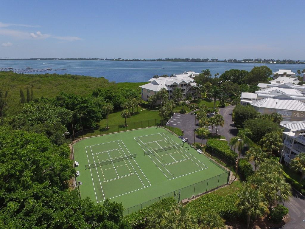 Tennis & Pickle Ball courts - Condo for sale at 11000 Placida Rd #2103, Placida, FL 33946 - MLS Number is D6102674