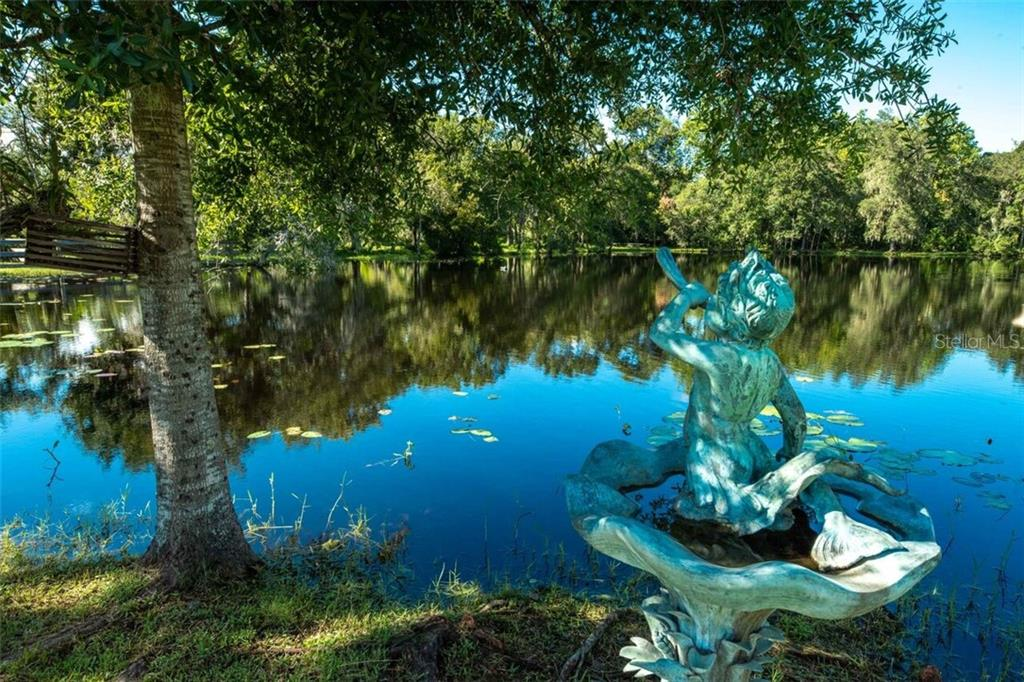Very few people will ever enjoy the ownership of a spectacular pond such as this. It is a known sanctuary for wood ducks, Florida mottled ducks, mallards and the beautiful and melodic whistling duck.  Bass, shell crackers, giant talapia, spotted perch, and armored catfish have all been caught in it's waters. - Single Family Home for sale at 7339 Hawkins Rd, Sarasota, FL 34241 - MLS Number is D6102762