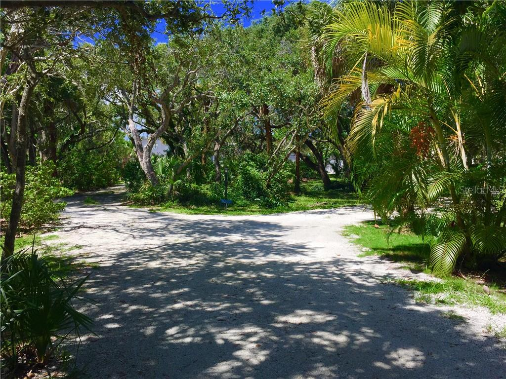 Entrance to property. - Vacant Land for sale at 6360 Manasota Key Rd #b, Englewood, FL 34223 - MLS Number is D6103470