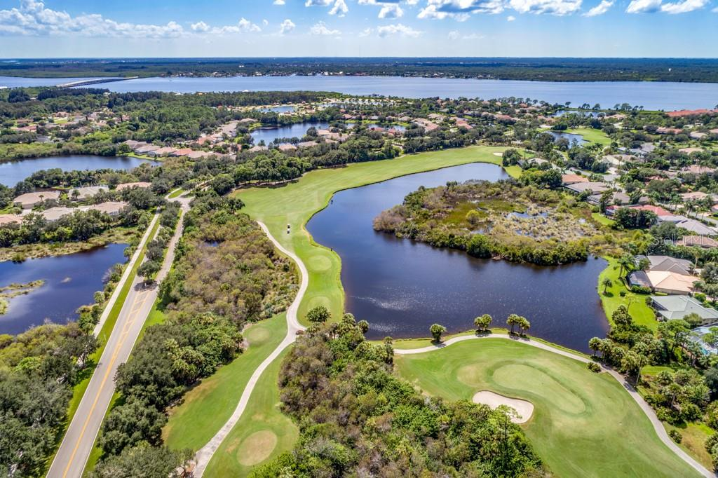 Riverwood Golf Course - Myakka River in background - Single Family Home for sale at 2684 Sable Palm Way, Port Charlotte, FL 33953 - MLS Number is D6104434