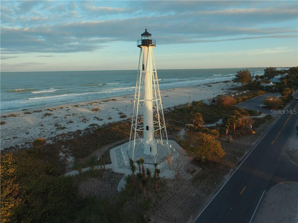 The newly-restored range light - Single Family Home for sale at 5820 Gasparilla Rd #Slip 21, Boca Grande, FL 33921 - MLS Number is D6107785