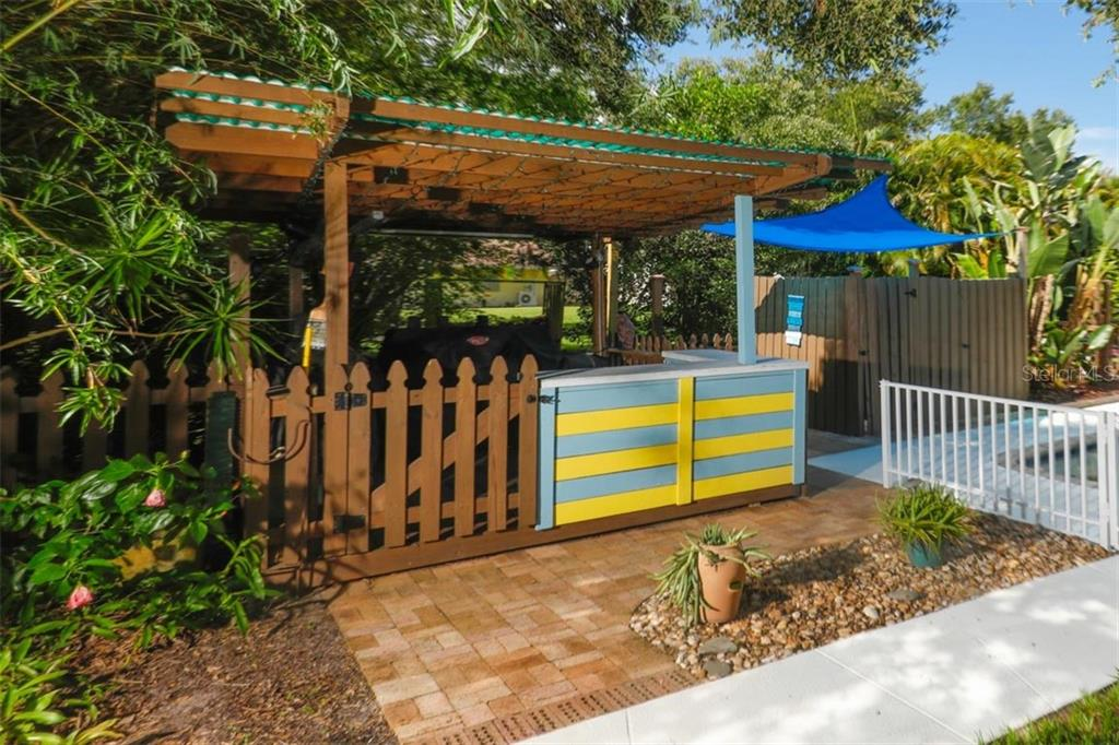 BBQ area - Single Family Home for sale at 140 S Oxford Dr, Englewood, FL 34223 - MLS Number is D6108024