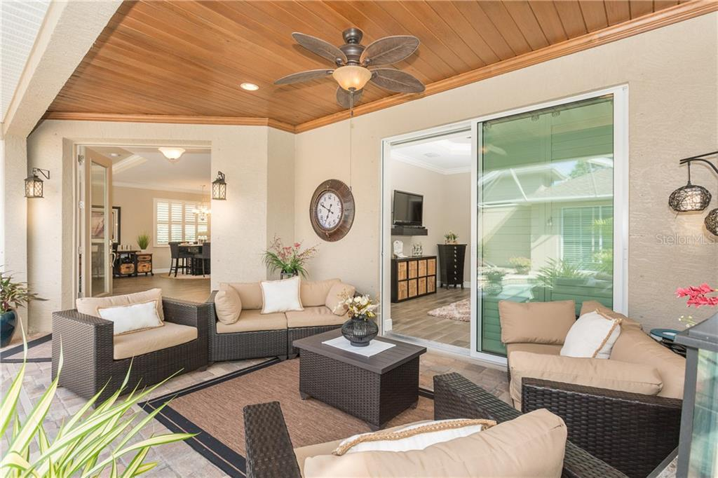 Beautiful relaxing Lanai Space - Single Family Home for sale at 130 Jade St, Rotonda West, FL 33947 - MLS Number is D6108653