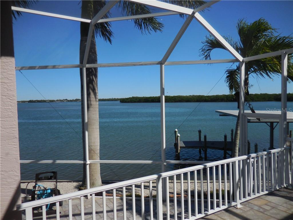 View of Side Yard - Single Family Home for sale at 185 Sabal Ln, Englewood, FL 34223 - MLS Number is D6110218
