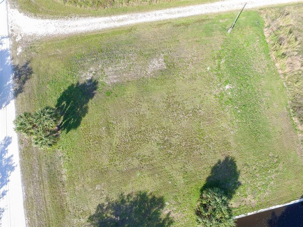 Drone Footage of both lots - Vacant Land for sale at 26361 View Dr, Punta Gorda, FL 33983 - MLS Number is D6110988