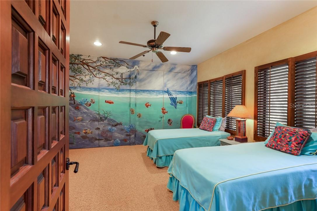 Guest bedroom 2 on 1st floor - Single Family Home for sale at 4090 Loomis Ave, Boca Grande, FL 33921 - MLS Number is D6112331