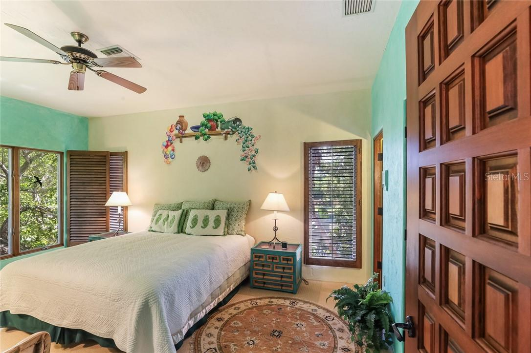 Guest bedroom #4, 2nd floor of guest wing - Single Family Home for sale at 4090 Loomis Ave, Boca Grande, FL 33921 - MLS Number is D6112331