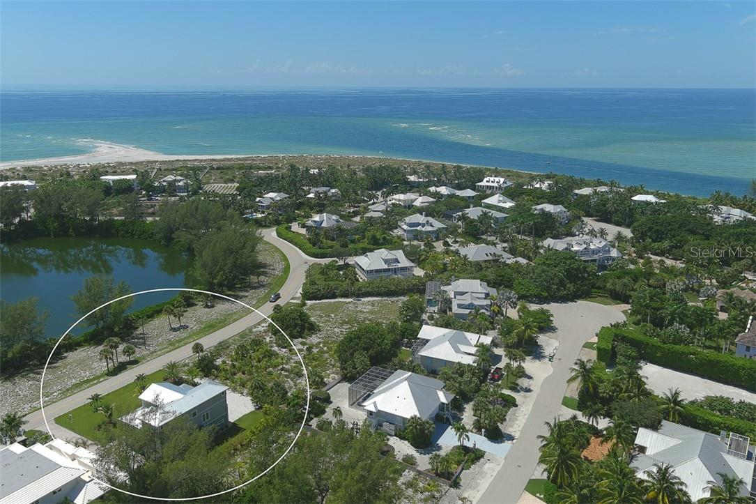 Aerial over Home - Single Family Home for sale at 16070 Gulf Shores Dr, Boca Grande, FL 33921 - MLS Number is D6112557