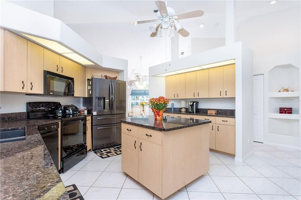 Large, well appointed kitchen - Single Family Home for sale at 1720 Larson St, Englewood, FL 34223 - MLS Number is D6114414