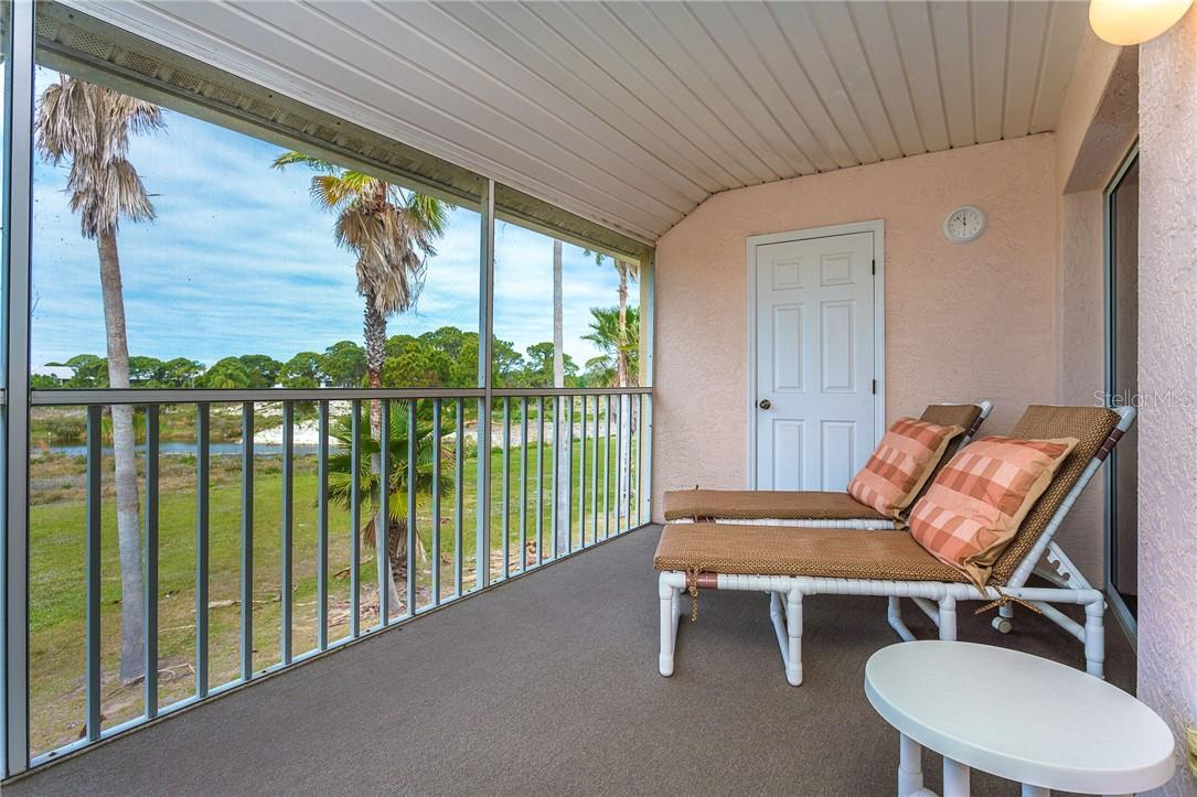 Watch all of the birds and wildlife come to the pond on the preserve - Condo for sale at 6610 Gasparilla Pines Blvd #229, Englewood, FL 34224 - MLS Number is D6117434