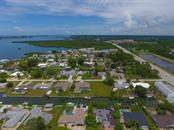 Aerial view from behind - Vacant Land for sale at 0 Michigan Ave, Englewood, FL 34224 - MLS Number is D5912495