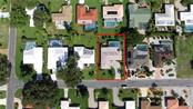 Neighborhood Location, home outlined in red - Single Family Home for sale at 7 Old Trail Rd, Englewood, FL 34223 - MLS Number is D6102912