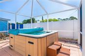 private hot tub area - Single Family Home for sale at 190 W Wentworth St, Englewood, FL 34223 - MLS Number is D6106918