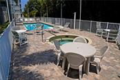Patio Area w/furnishings - Condo for sale at 2245 N Beach Rd #304, Englewood, FL 34223 - MLS Number is D6112346