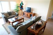View from above - living room - Condo for sale at 2245 N Beach Rd #304, Englewood, FL 34223 - MLS Number is D6112346