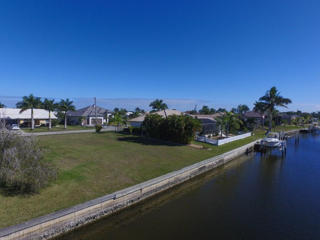 Plenty of seawall for your own dock. - Vacant Land for sale at 543 Andora Dr, Punta Gorda, FL 33950 - MLS Number is C7234405