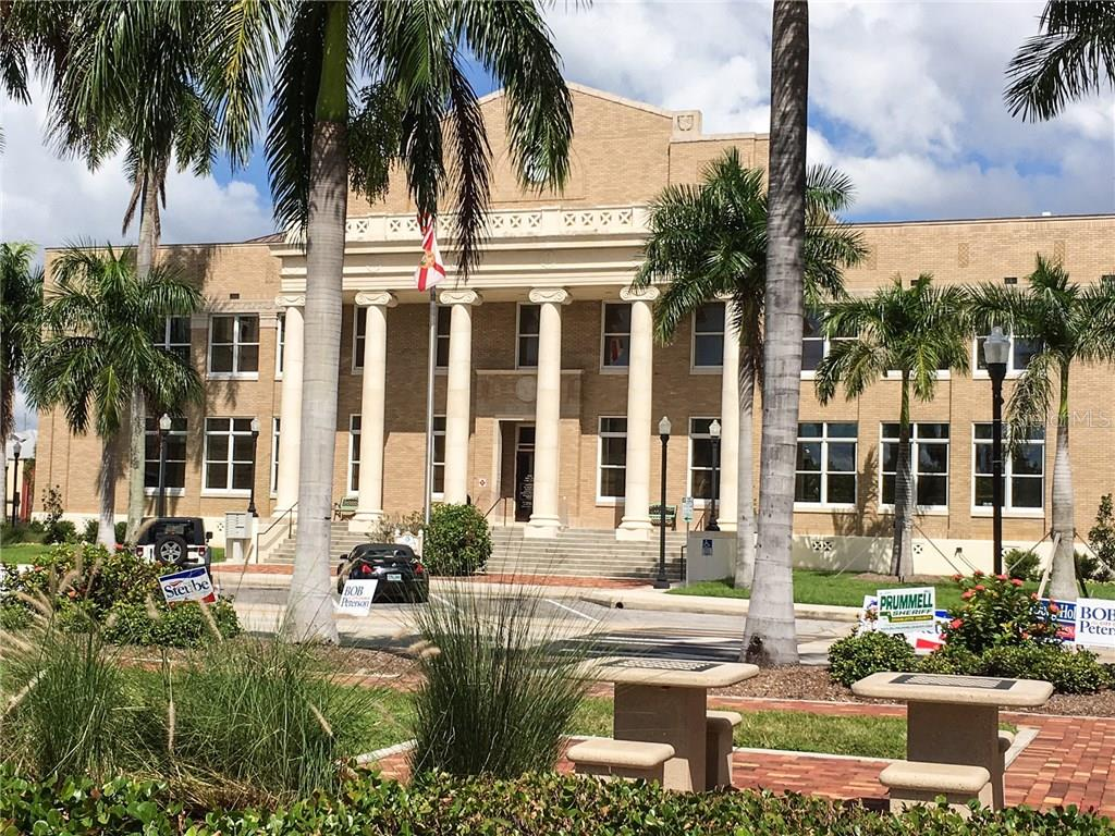 Historic Courthouse - Vacant Land for sale at 3013 Chapman Blvd, Punta Gorda, FL 33950 - MLS Number is C7236430