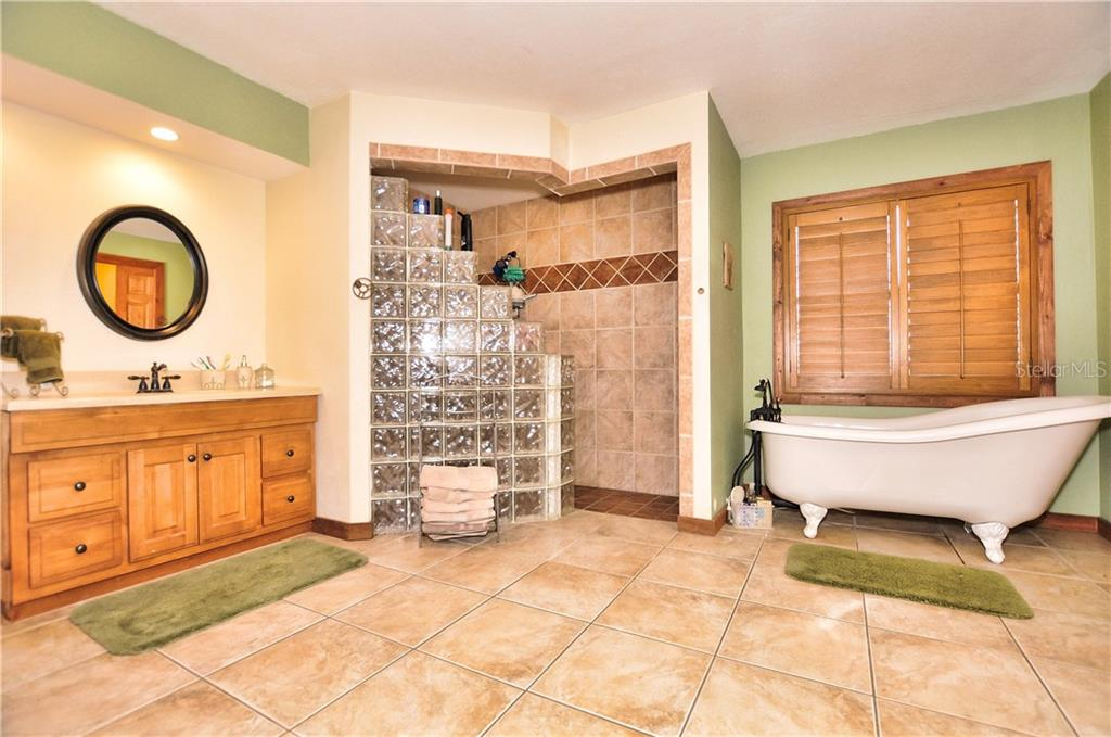Huge Master Bathroom - First Picture - Single Family Home for sale at 30720 Washington Loop Rd, Punta Gorda, FL 33982 - MLS Number is C7239690