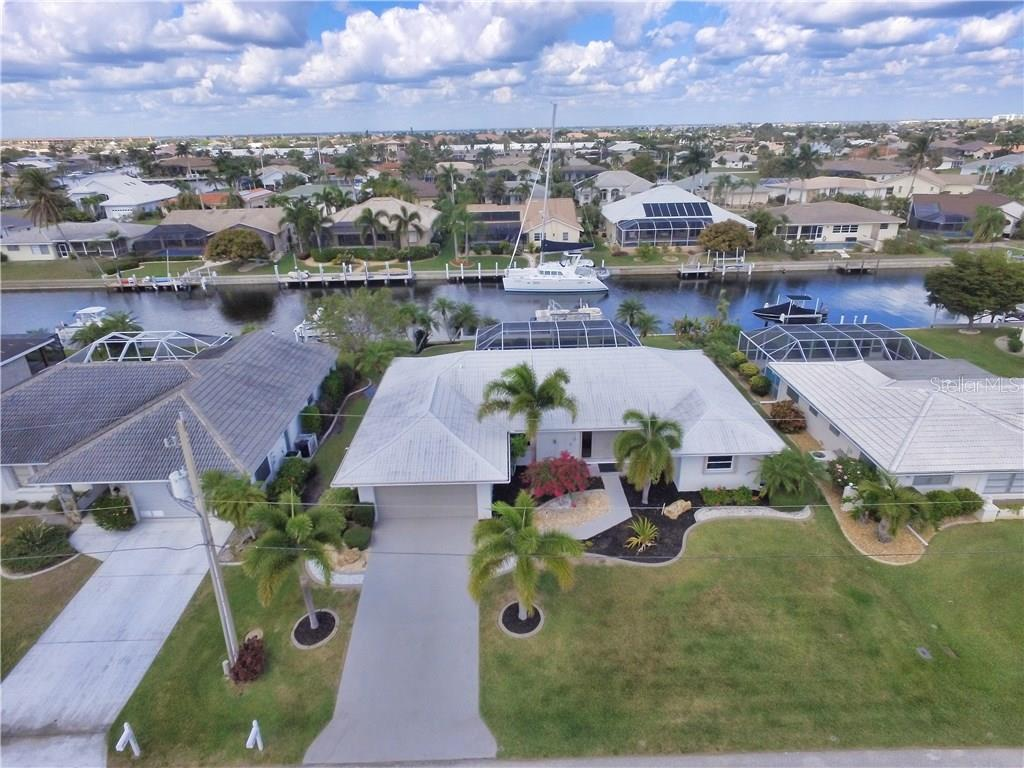 View of the sailboat waters - Single Family Home for sale at 2526 Parisian Ct, Punta Gorda, FL 33950 - MLS Number is C7249726