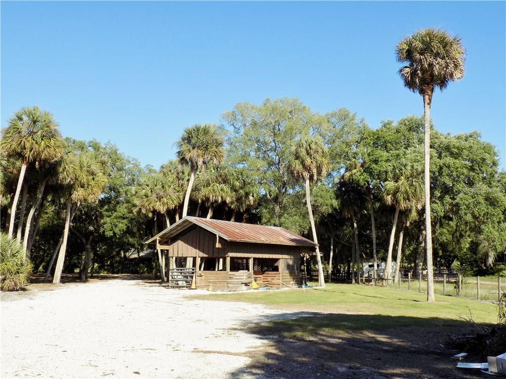 Pole barn - Single Family Home for sale at 5624 Reisterstown Rd, North Port, FL 34291 - MLS Number is C7250923