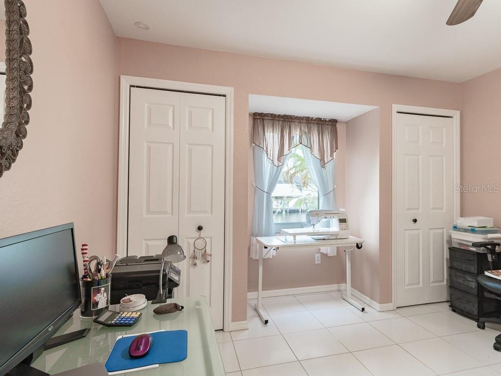 Bedroom 3 has TWO CLOSETS! - Single Family Home for sale at 15464 Avery Rd, Port Charlotte, FL 33981 - MLS Number is C7401914