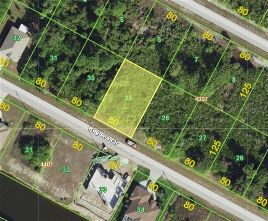 Vacant Land for sale at 13831 Begonia Cir, Port Charlotte, FL 33981 - MLS Number is C7408155
