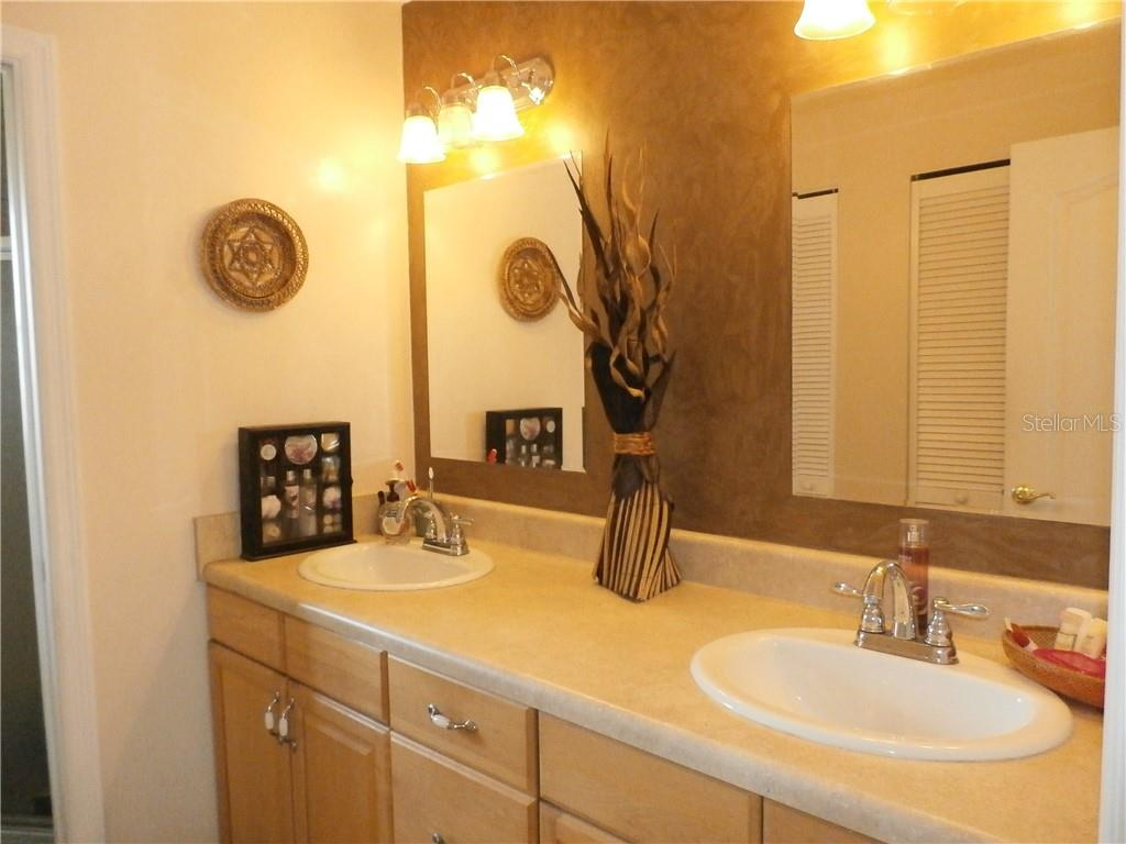 Master bath double sink vanity - Single Family Home for sale at 416 Bahia Grande Ave, Punta Gorda, FL 33983 - MLS Number is C7408301