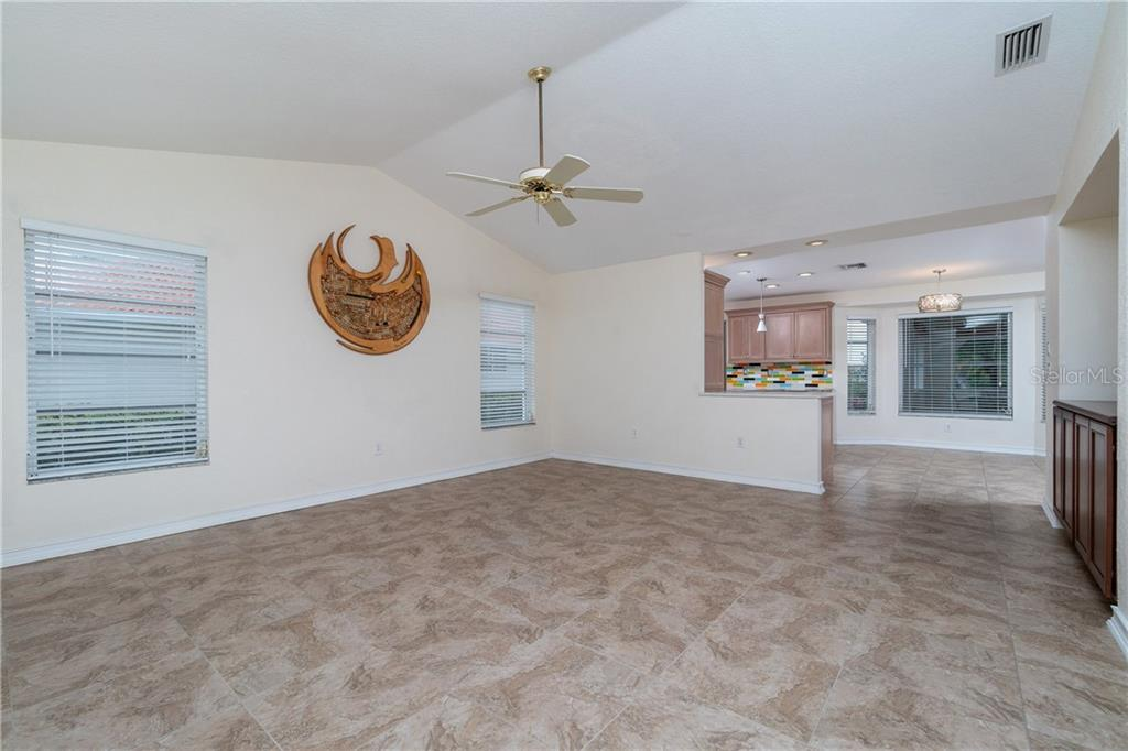 Beautiful tile flooring. - Single Family Home for sale at 572 Toulouse Dr, Punta Gorda, FL 33950 - MLS Number is C7411184