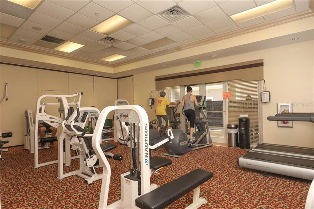 New fitness room - Condo for sale at 4643 Club Dr #102, Port Charlotte, FL 33953 - MLS Number is C7413207
