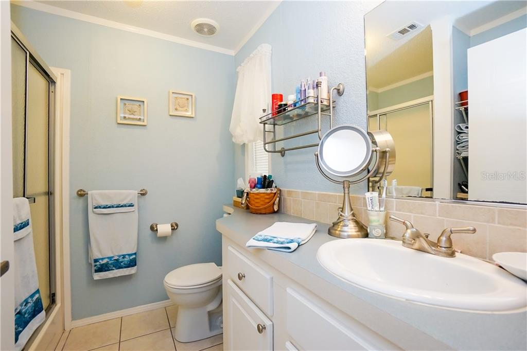 Master Bath - Manufactured Home for sale at 10101 Burnt Store Rd #23, Punta Gorda, FL 33950 - MLS Number is C7413977