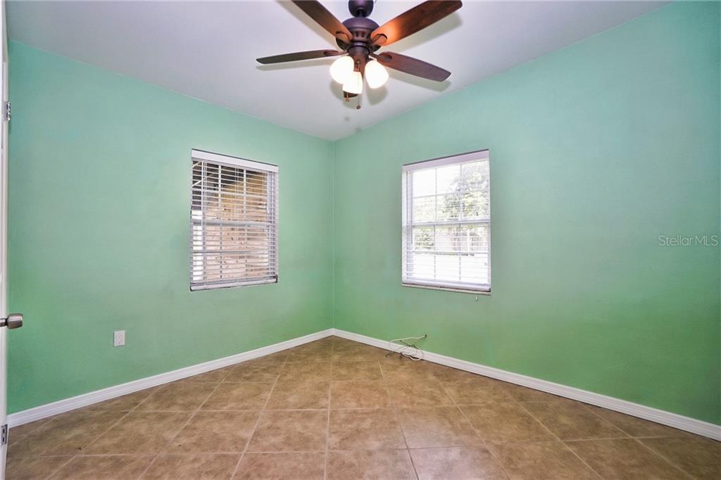 Bedroom 3 - Ceiling Fan - Single Family Home for sale at 3513 Areca St, Punta Gorda, FL 33950 - MLS Number is C7414620