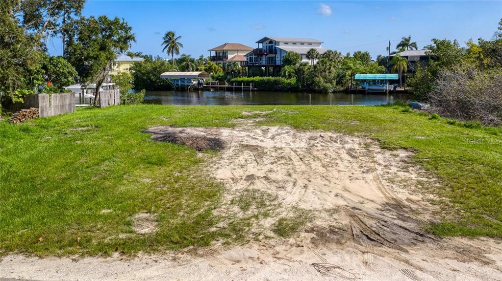 Ground view of the lot - Vacant Land for sale at 24166 Henry Morgan Blvd, Punta Gorda, FL 33955 - MLS Number is C7417999