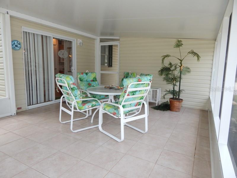 Perfect spot! Large screened lanai. - Manufactured Home for sale at 31 Freeman Ave, Punta Gorda, FL 33950 - MLS Number is C7420702