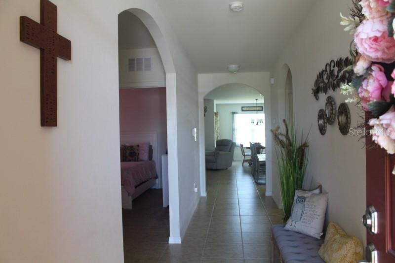 Front Entryway - Single Family Home for sale at 25000 Lalique Pl, Punta Gorda, FL 33950 - MLS Number is C7421067