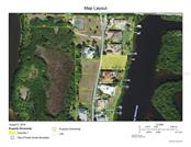 Charlotte County GIS Map image showing the parcel sitting on East Spring Waterway among large Estate Homes. - Vacant Land for sale at 4030 Lea Marie Island Dr, Port Charlotte, FL 33952 - MLS Number is C7404124