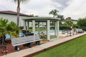 Pagoda and grilling area - Condo for sale at 25100 Sandhill Blvd #M201, Punta Gorda, FL 33983 - MLS Number is C7433797