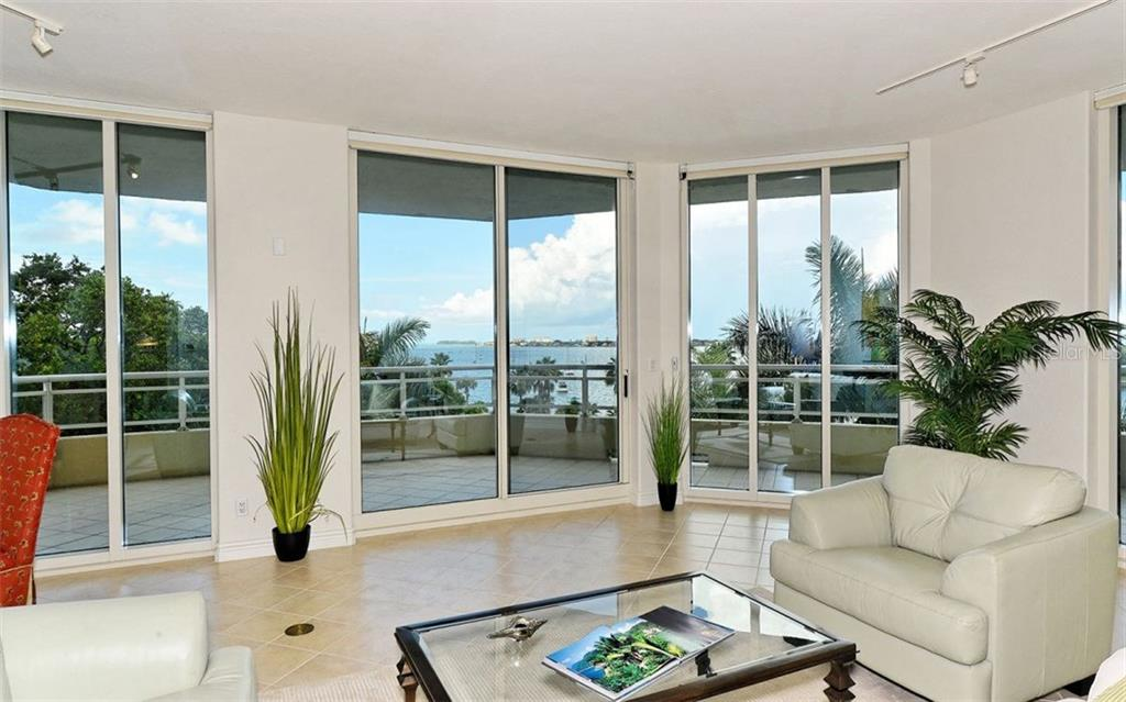 Living room - Condo for sale at 500 S Palm Ave #41, Sarasota, FL 34236 - MLS Number is A4144835