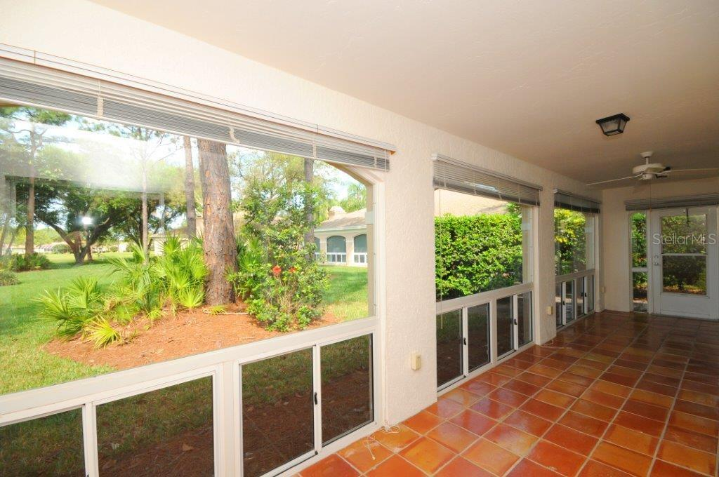 Enclosed lanai of great room - Villa for sale at 5510 Chanteclaire #46, Sarasota, FL 34235 - MLS Number is A4156527
