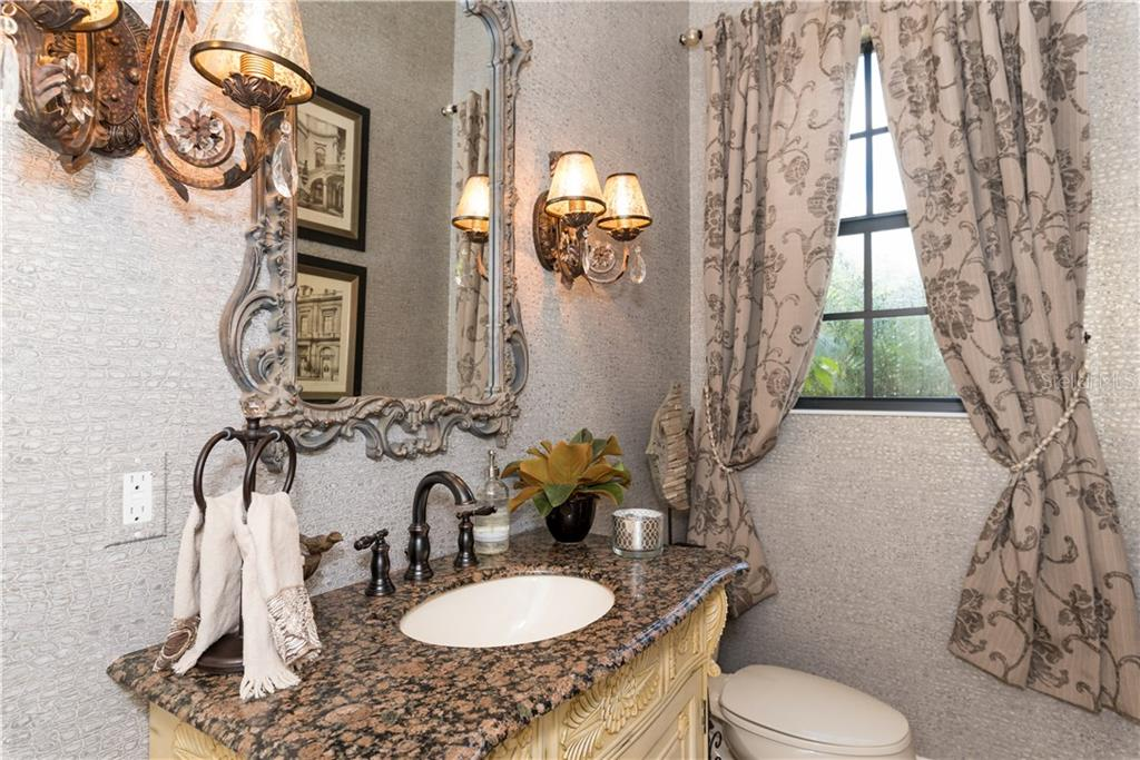 Powder Room - Single Family Home for sale at 1620 Assisi Dr #19, Sarasota, FL 34231 - MLS Number is A4163976