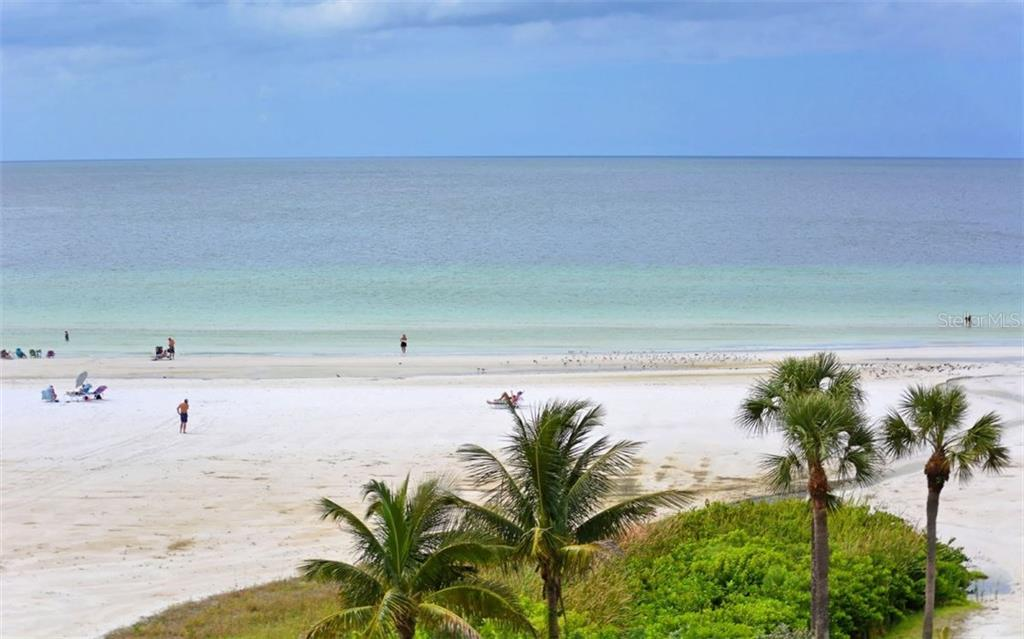 Beach views - Condo for sale at 5830 Midnight Pass Rd #504, Sarasota, FL 34242 - MLS Number is A4166623