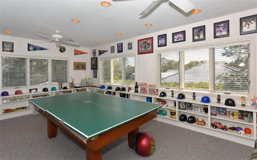Great Game Room - Single Family Home for sale at 3111 Dick Wilson Dr, Sarasota, FL 34240 - MLS Number is A4176685